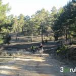 Pista de subida al Pico Peñarroya