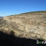 Vista del monte nada mas salir de Gudar