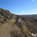 Camino desde la ermita a Aguilar del Alfambra