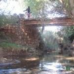 Cruzando el rio Alfambra