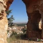 Alfambra desde las ruinas de la Iglesia