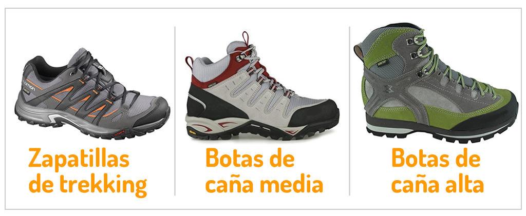 Zapatillas y botas de trekking