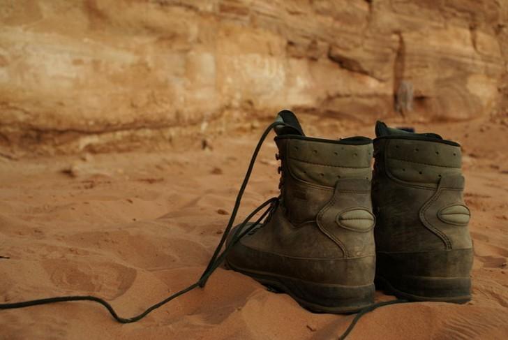 Las botas de senderismo