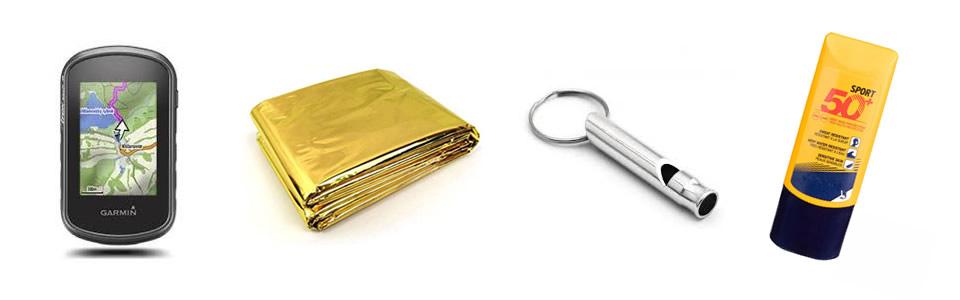 Cosas que debemos llevar en la mochila de senderismo