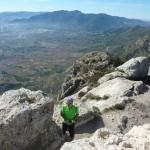 Vistas desde la cumbre del Benicadell