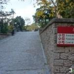Inicio camino Sant Miquel