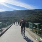 Via verde al inicio de la ruta