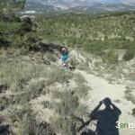 Bajada por el arenal