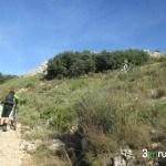 Último tramo antes de la cima del Benicadell