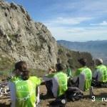Almorzando bajo el pico del Benicadell