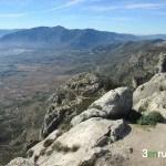 Vista desde el vértice geodésico del Benicadell