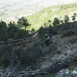 Zetas de la senda de bajada de la cima del Benicadell