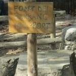 Antes de Gaianes podemos reponer agua en la Font del Barranc del Port