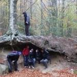 Hobbits y Nazgul - Montseny