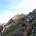 Nos vamos acercando al pico del Benicadell