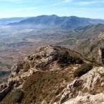 Vistas desde el pico del Benicadell