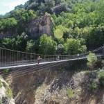 Cruzaremos el puente antes de llegar al cañón