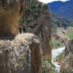 Camino superior del Congost del Mont-Rebei