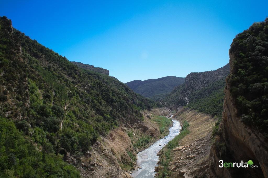 Al llegar al final de Congost se abre el valle delante de nosotros