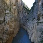 Camino inferior del Congost del Mont-Rebei