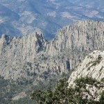 Vista de la la Serra dels Castellets desde el Collado del Llamp