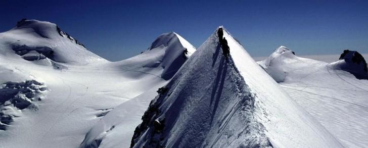 Travesia de los Lyskamm (Monte Rosa en los Alpes Suizos)