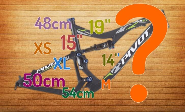 Elige la talla de tu bicicleta