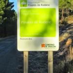Señal de entrada al paisaje protegido