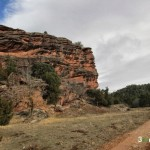 Pista tras la Masada de Ligros