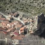 Vista del pueblo de Tormón