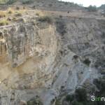 Escaleras de bajada al Salt de Xixona