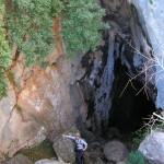 Entrada a la Cueva de Bolumini de Beniarbeig