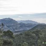 Bonitas vistas desde la carretera de subida a la antenas del Maigmó