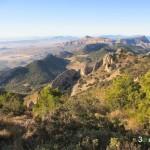 """Las vistas desde la senda hacia el """"Alt del Guisop"""" son impresionantes"""