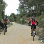 Tras la senda ciclaremos por pista ancha un buen tramo