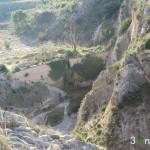 Vista del Pantanet durante la subida