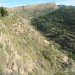 Cresta de la Sierra del Fraile por la que caminaremos