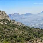 Vista del Benicadell desde Montcabrer