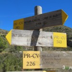 Seguiremos en dirección Alt del Cantal - Cami de Busot