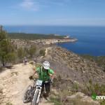 Tramo de subida final al Puig d'Enmorna