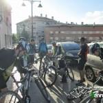El punto de salida de la ruta es frente al Campo del Collao en Alcoy