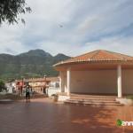 Plaza con vista al Benicadell