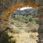 Masía abandonada cerca de la Cova dels Corrals