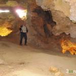 Sala principal de la Cueva dels Pilars