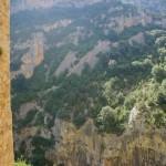Vista de la bajada de los Gradones desde la Ermita