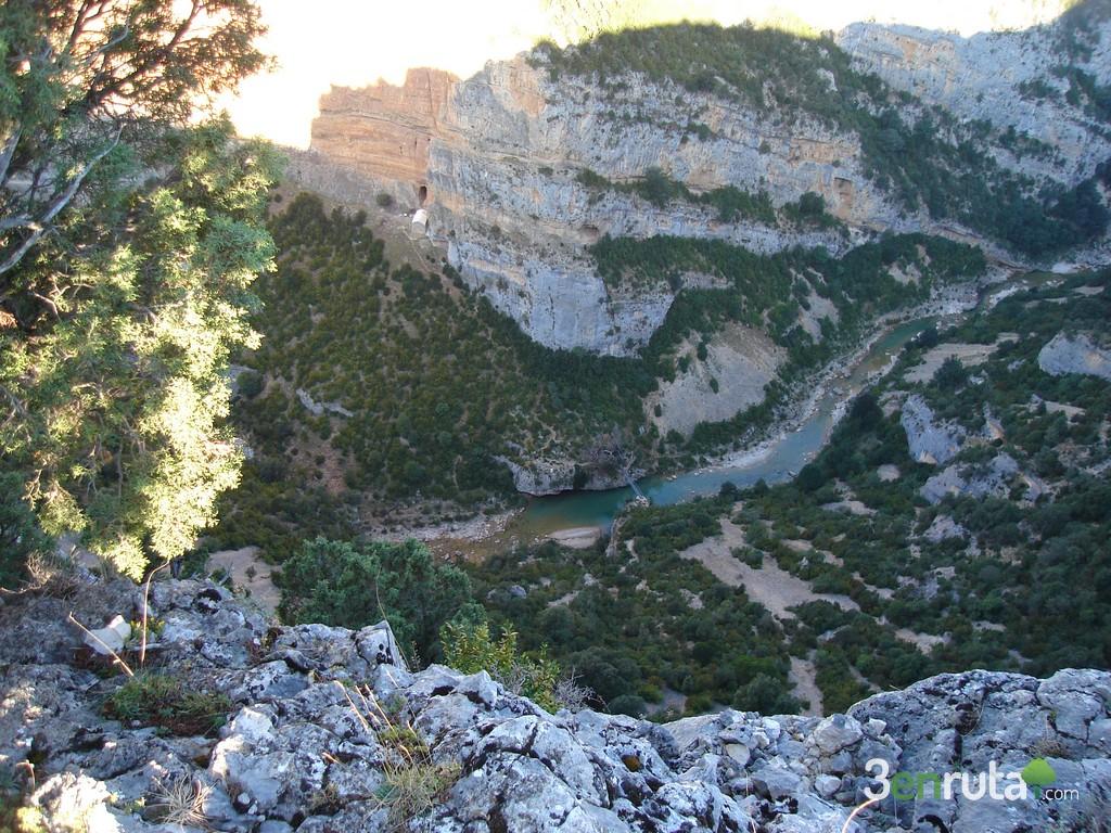 Vista del rio Alcanadre