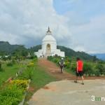 Pagoda dPagoda de la Paz Mundial - Pokhara
