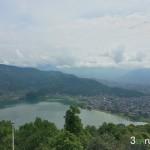 Lago Phewa Tal desde Pagoda Paz Mundial