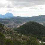 La Balcella y el Puig Campana al fondo