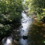 Gran parte la ruta transcurre junto al rio Trubia